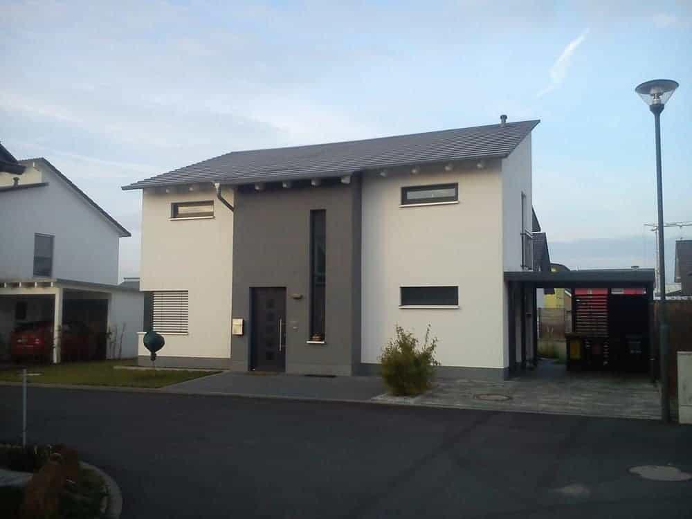Einfamilienhaus mit versetztem Pultdach in Fulda-Galerie