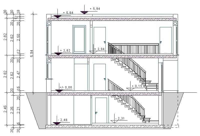 bauhaus118 massivhausbau made in th ringen. Black Bedroom Furniture Sets. Home Design Ideas