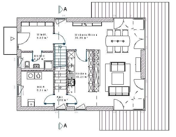 bauhaus139 massivhausbau made in th ringen. Black Bedroom Furniture Sets. Home Design Ideas