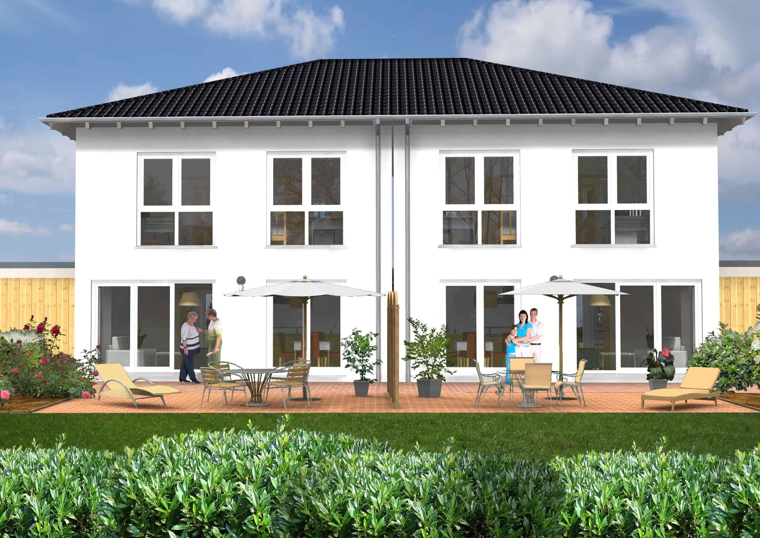 Doppelhaus Klassik 30.33