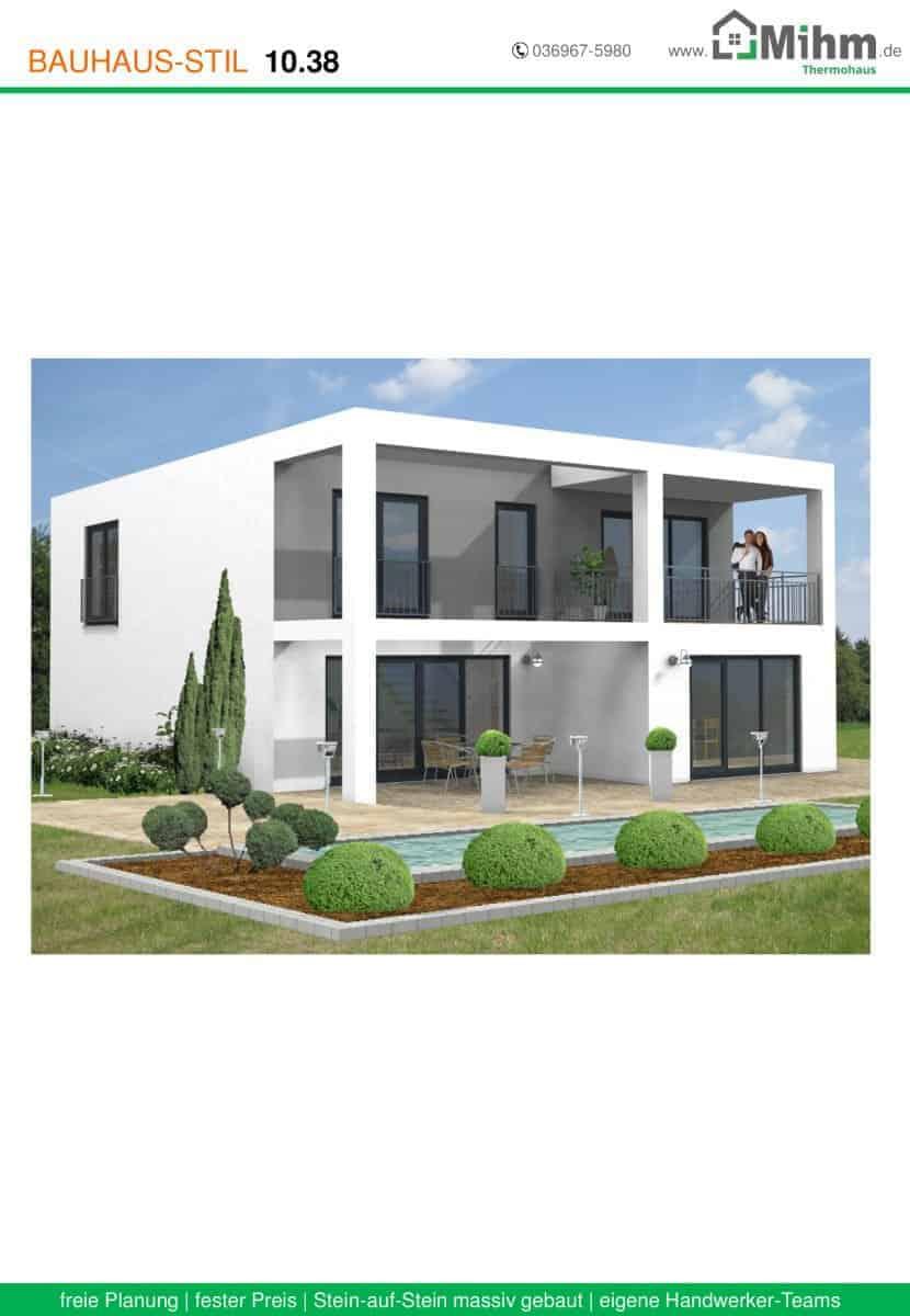 Stadtvilla flachdach zoom 59 massivhausbau made in for Stadtvilla flachdach