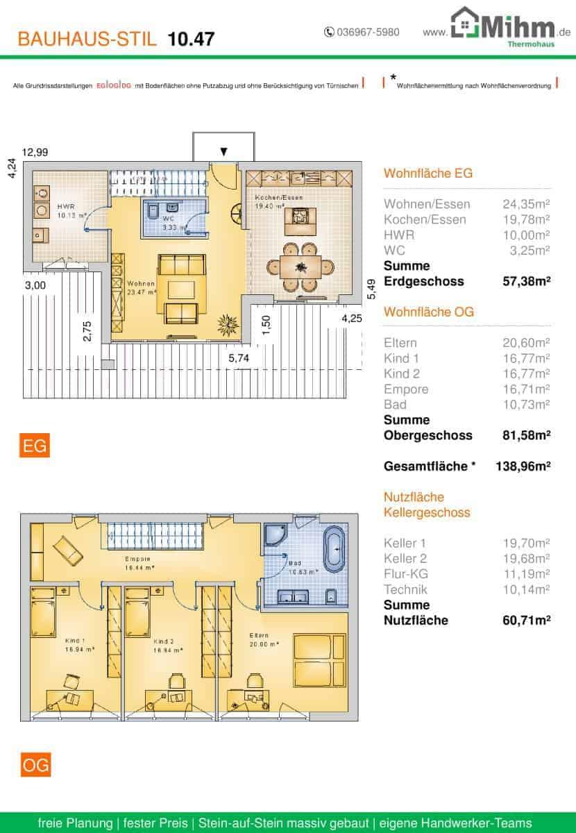 Stadtvilla flachdach zoom 78 massivhausbau made in for Stadtvilla flachdach