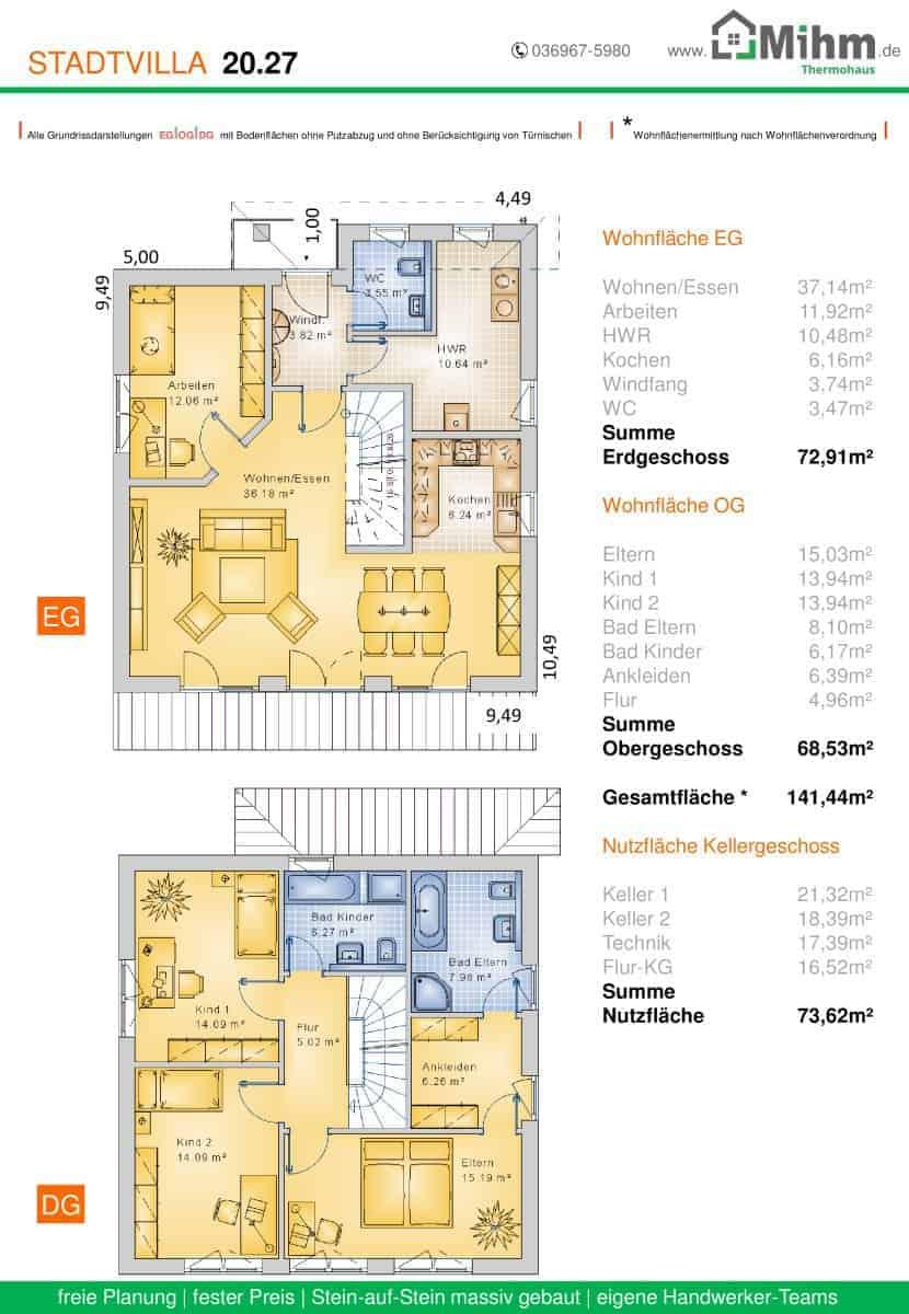 282f5283f0d548 Stadtvilla-Walmdach-zoom-38 – Massivhausbau made in Thüringen!
