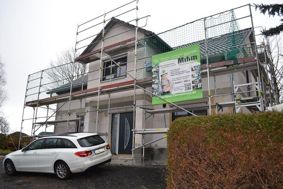 Einfamilienhaus in 36452 Empfertshausen mit 2 Quergiebeln