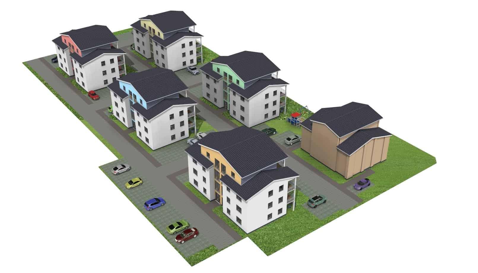 Eigentumswohnungen in 98617 Meiningen, Neunkirchener Straße