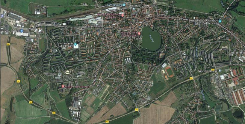 """Neubaugebiet """"Honigbach"""" in 36433 Bad Salzungen mit 17 Bauplätzen"""