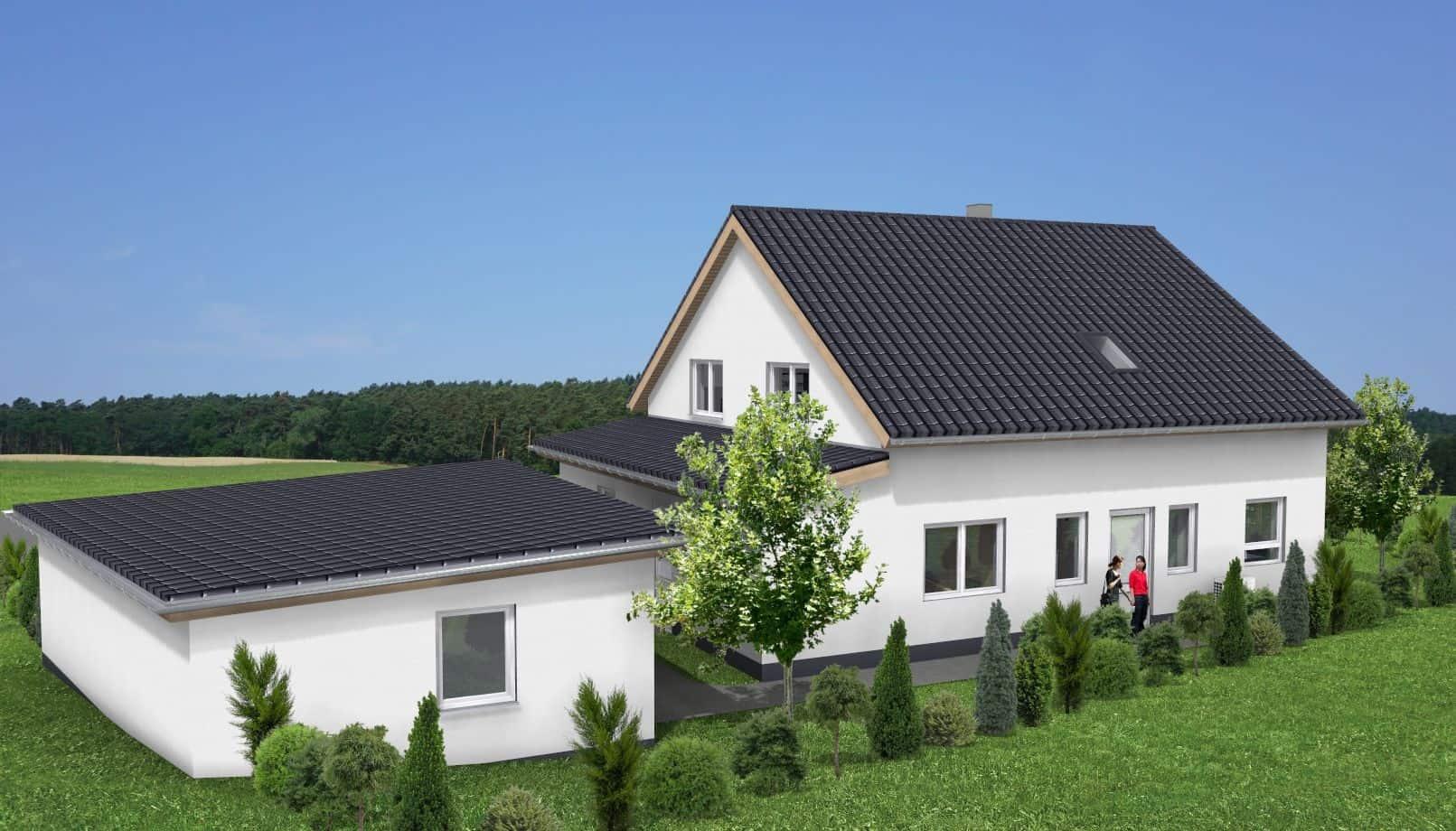 Einfamilienhaus mit ELW parterre in 36124 Eichenzell-Rönshausen