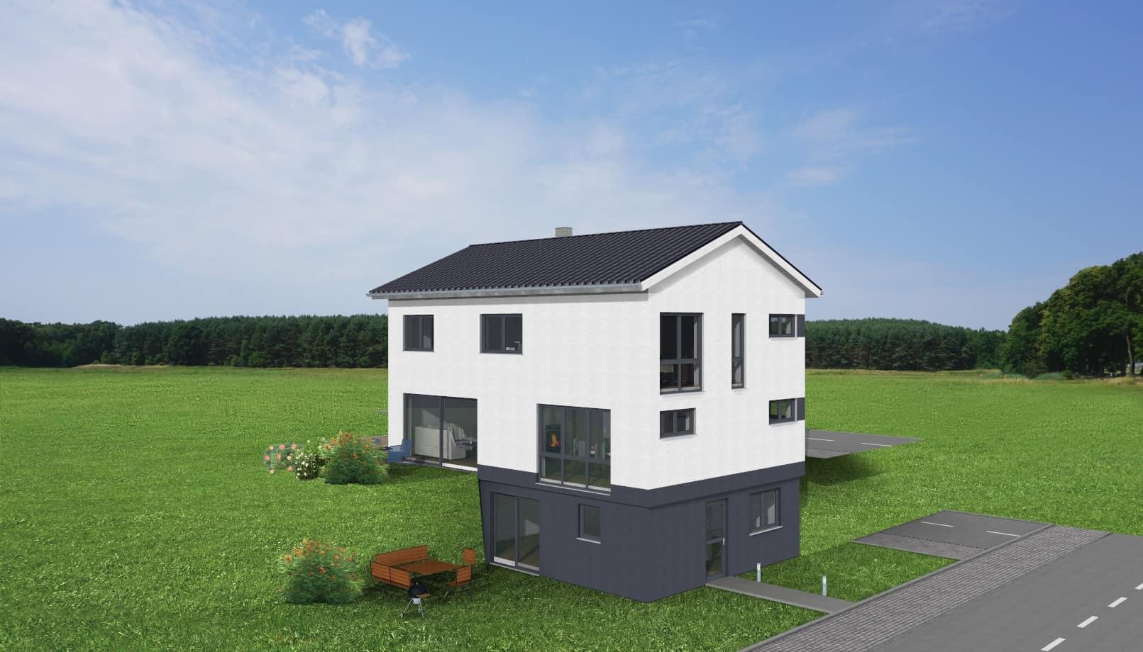 Einfamilienhaus mit Einliegerwohnung im Untergeschoss in Rimpar