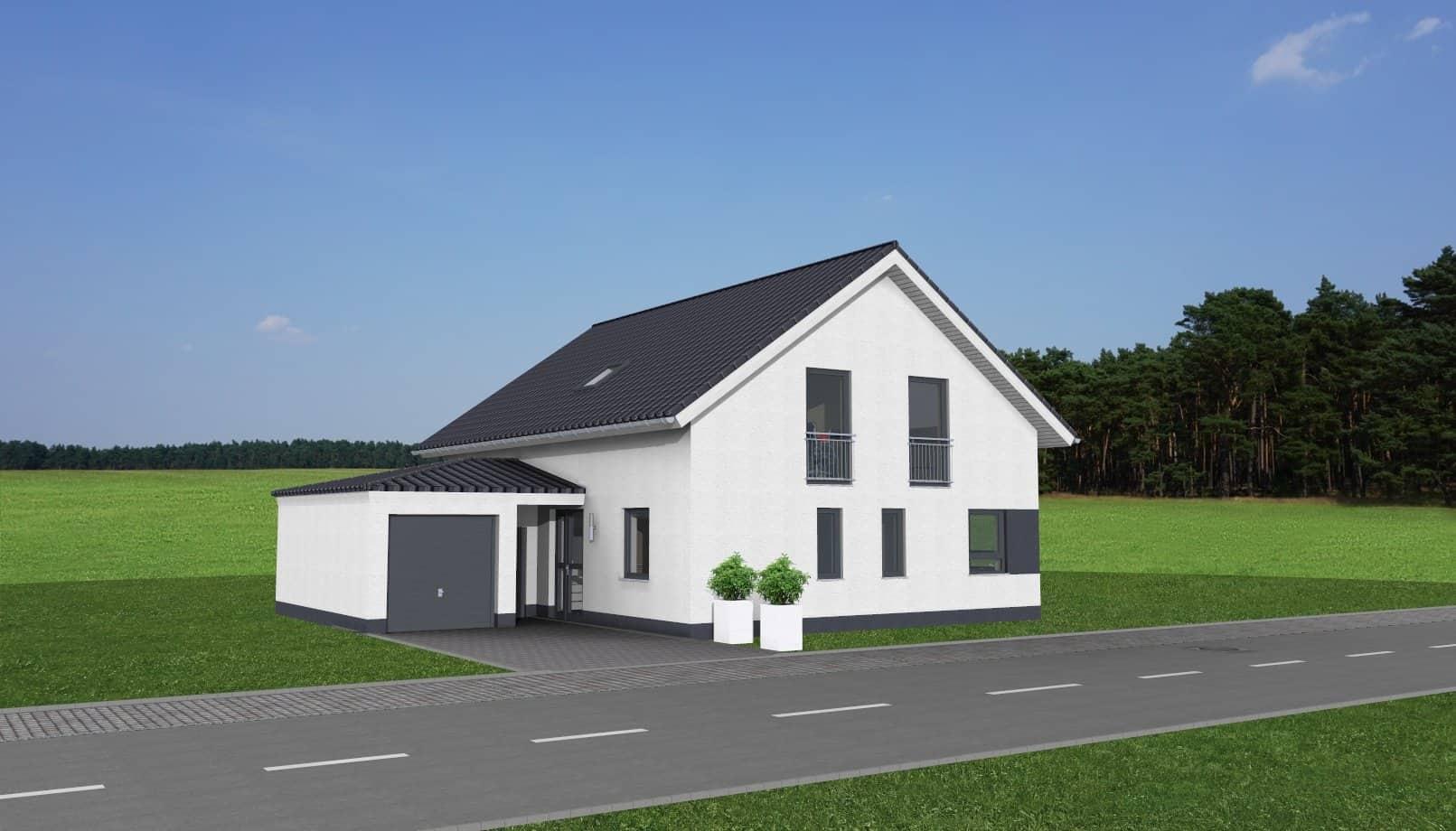 Einfamilienwohnhaus mit Walmdachgarage in 61197 Florstadt-Stammheim