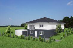 Bungalow124+BKG131_Bauantrag_Ansicht_3D-ELW
