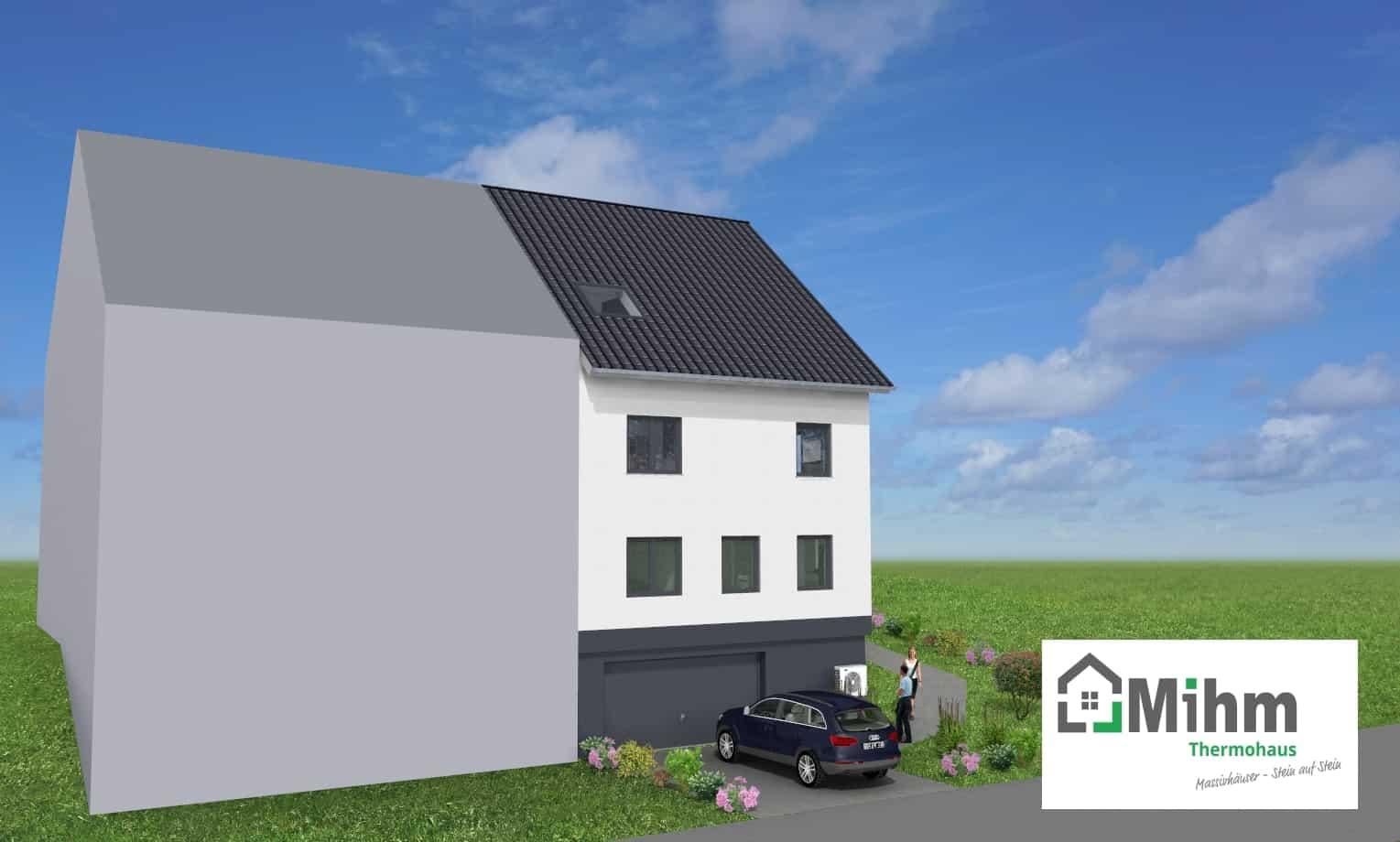 Hervorragend DHH mit Keller und Garage in 36039 Fulda OT Horas | Massivhausbau AL22