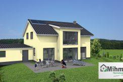 Classico173SD+Garage42PD_Bauantrag_Ansichten_3D-Terrasse_Logo