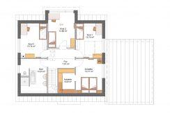 Classico173SD+Garage42PD_Bauantrag_Ansichten_DG-Entwurf