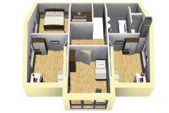Classico173SD+Garage42PD_Bauantrag_Ansichten_DG-Terrasse