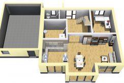 Classico173SD+Garage42PD_Bauantrag_Ansichten_EG-Terrasse