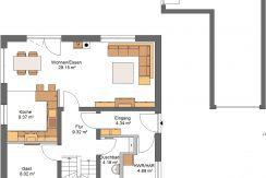 Idealo135SD190_Bauantrag_Ansichten_EG-Entwurf
