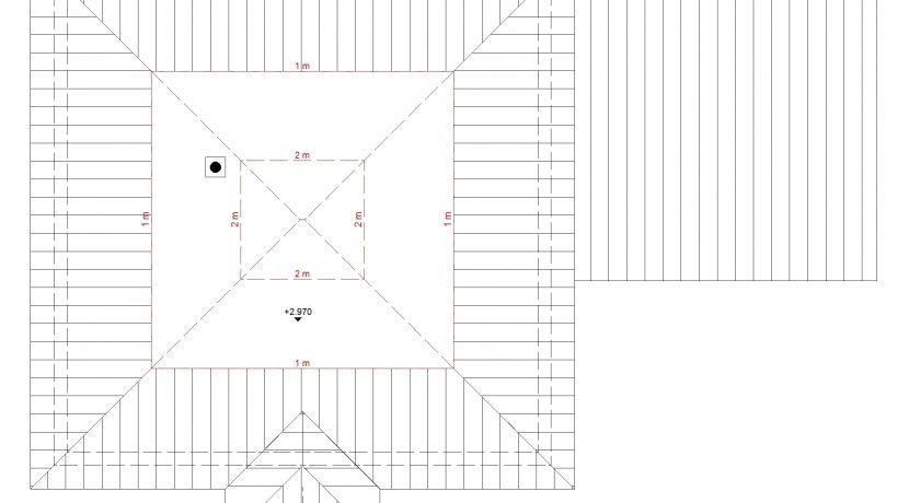 Bungalow141WD+GA60PD_Bauantrag - Ansichten_DG-Entwurf