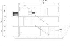 Citylife184FD+GA36+KG121_Bauantrag_neu_Ansichten_Schnitt A-A