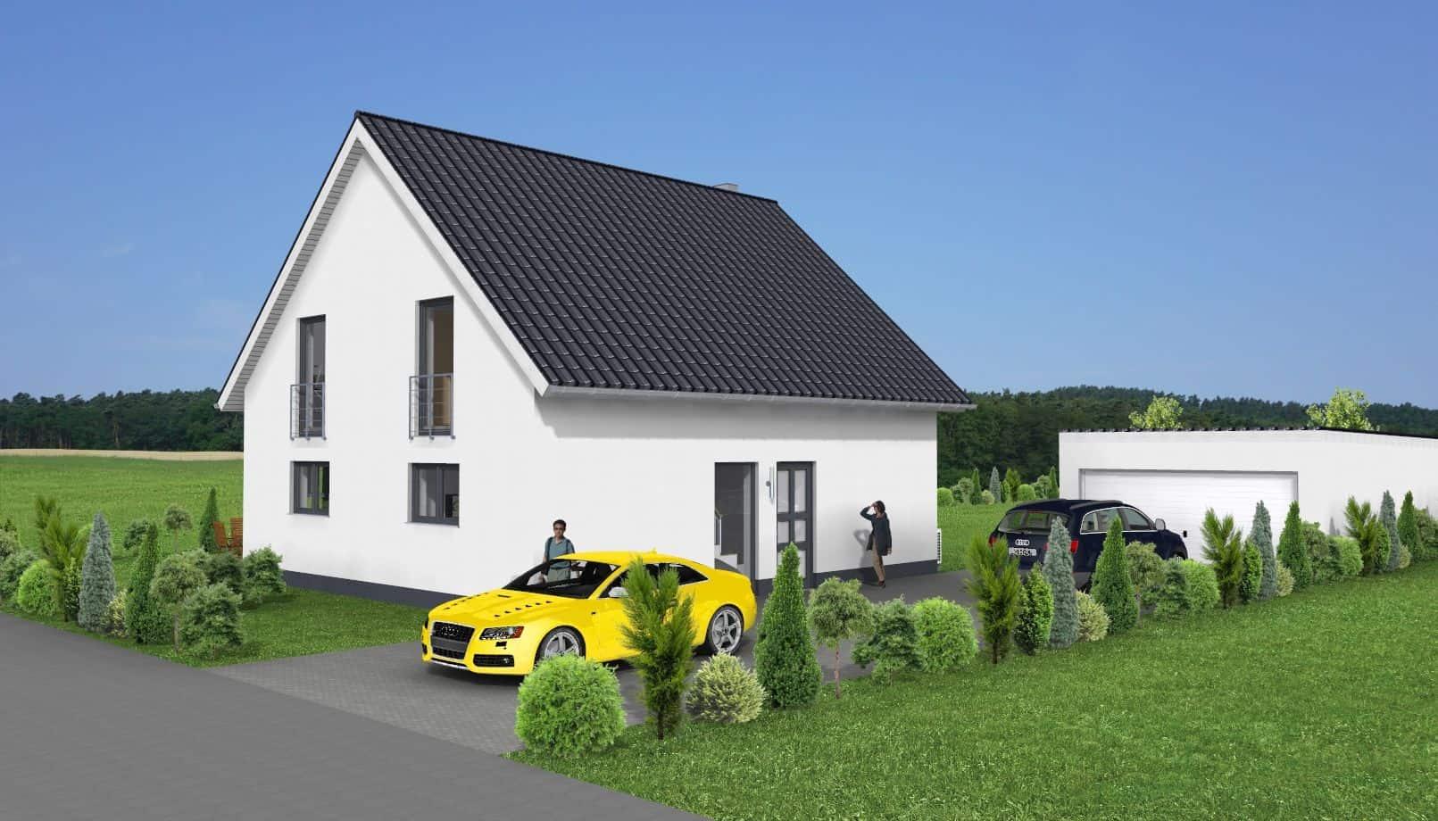 EFH mit Satteldach und Garage in 36452 Kaltennordheim