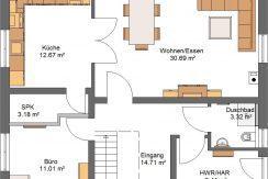 Classico164SD90_Bauantrag_Ansichten_EG-Entwurf