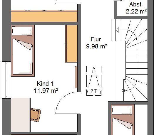 DHH150WD_Bauantrag_Kaya-Ansichten_OG-Entwurf