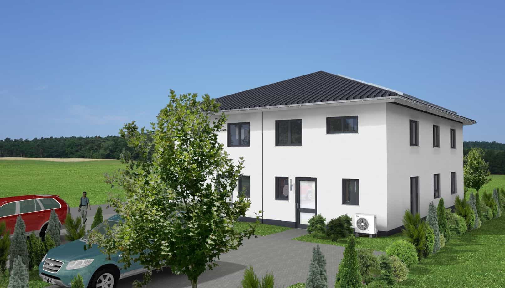 Doppelhaus-Stadtvilla in 36043 Fulda