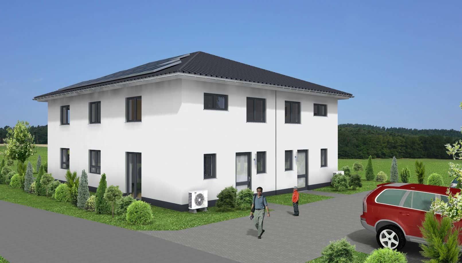 Stadtvilla-Doppelhaushälfte in 36043 Fulda
