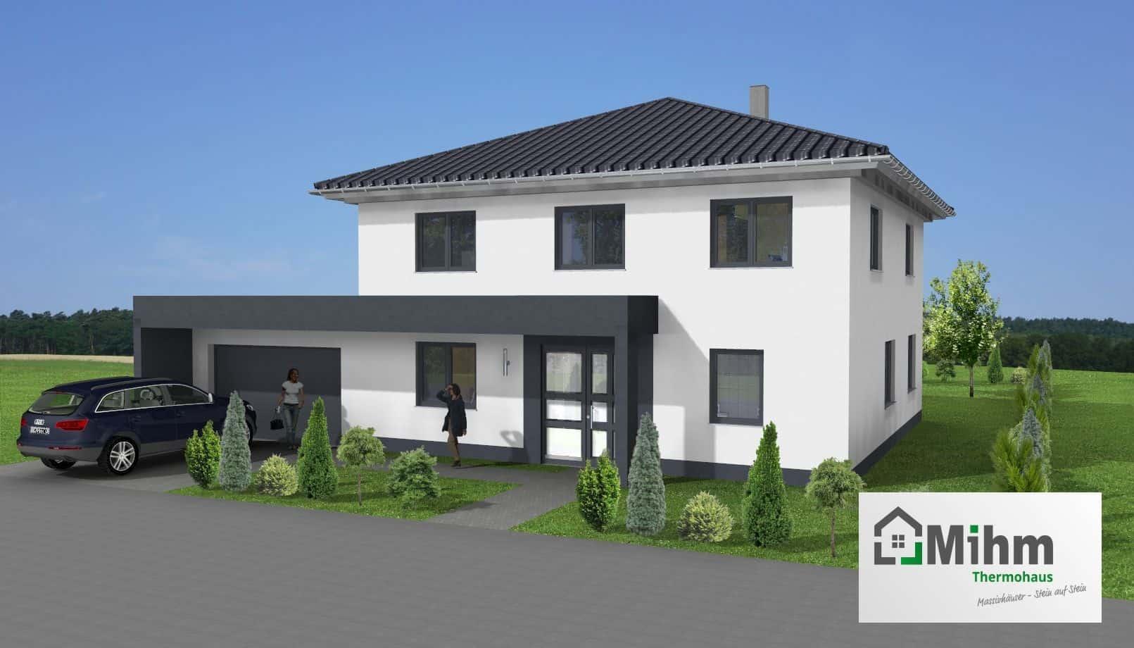 Stadtvilla Mit Garage : stadtvilla mit garage in 35576 wetzlar massivhausbau ~ A.2002-acura-tl-radio.info Haus und Dekorationen