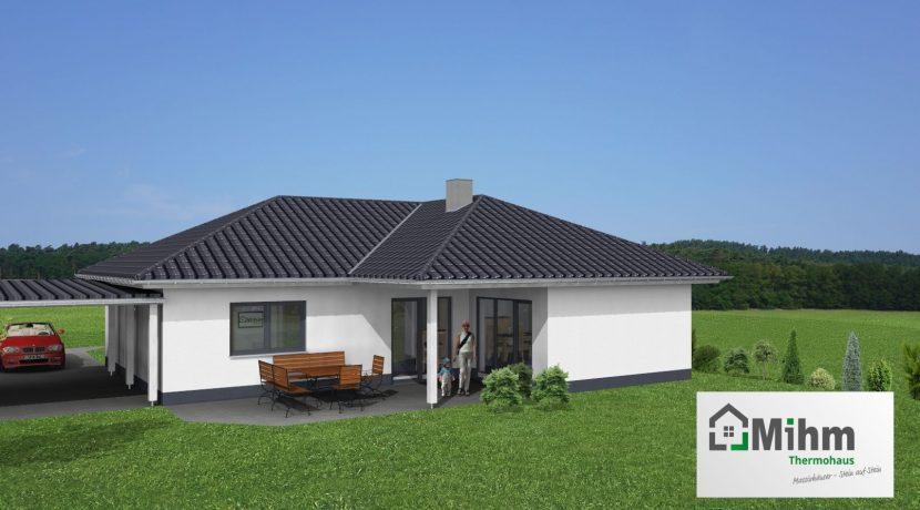 Winkelbungalow102WD_Bauantrag-TEKTUR_Ansichten_3D-Terrasse_Logo