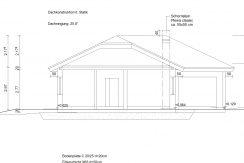 Winkelbungalow102WD_Bauantrag-TEKTUR_Ansichten_Schnitt A-A