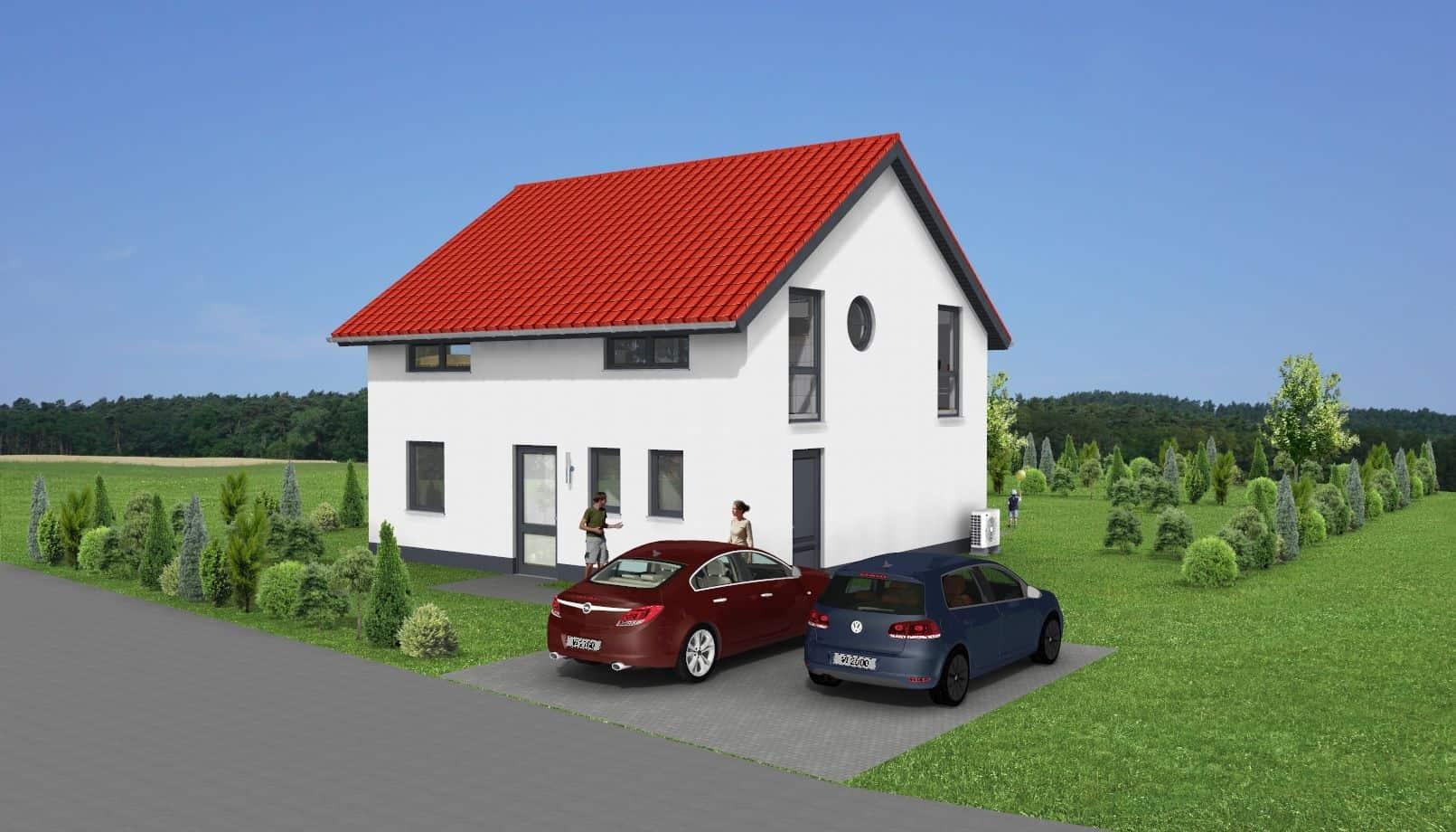 Einfamilienwohnhaus mit Satteldach in 36211 Alheim-Oberellenbach