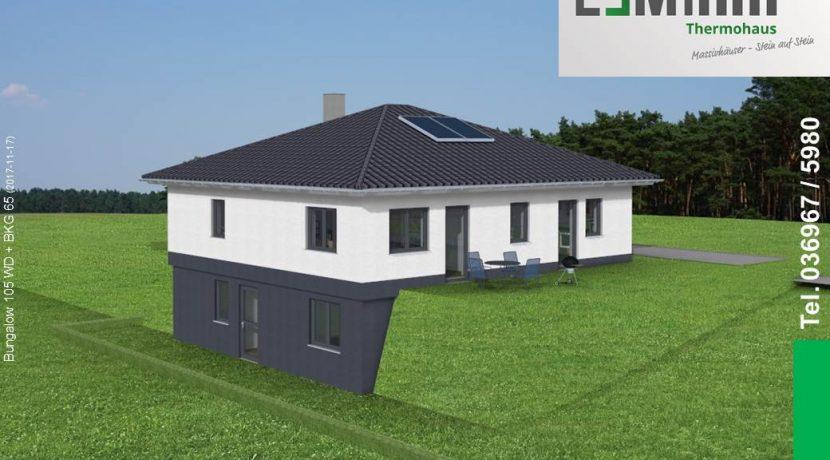 Mihm-Thermohaus_Bungalow105WD+BKG65_3D-Garten