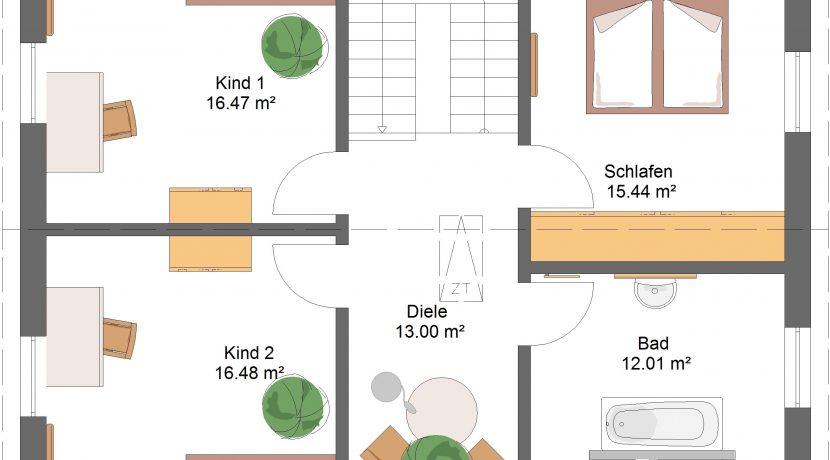 Classico156SD240_Bauantrag_Ansichten_DG-Entwurf