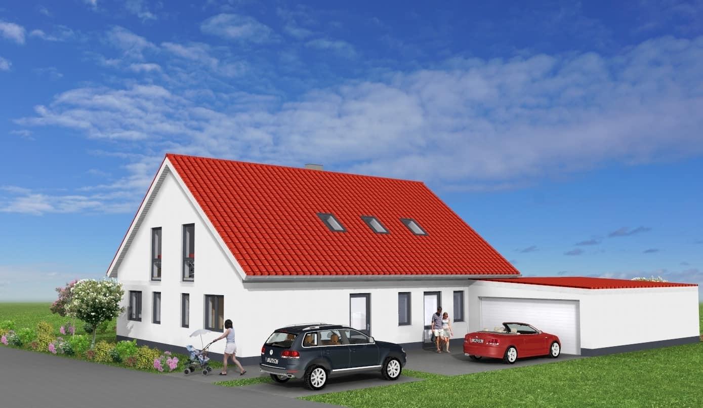 Einfamilienhaus mit ELW und Garage in 36041 Fulda-Sickels