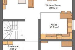 Idealo143SD_Bauantrag-Ansichten_EG-Entwurf