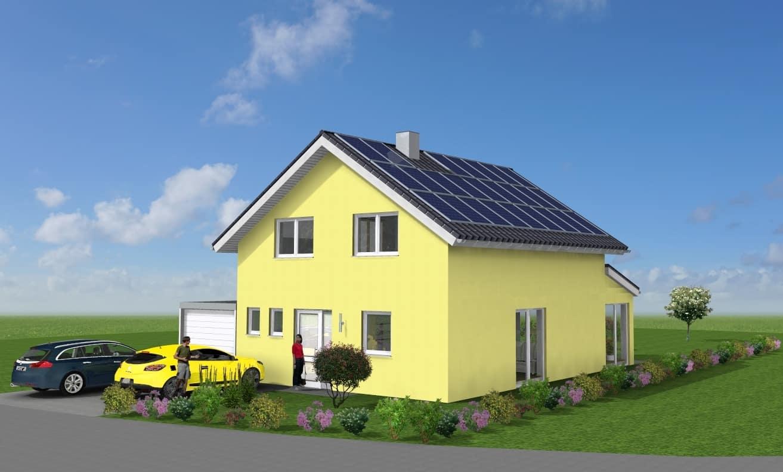 Einfamilienhaus mit Wintergarten und Garage in 35457 Lollar