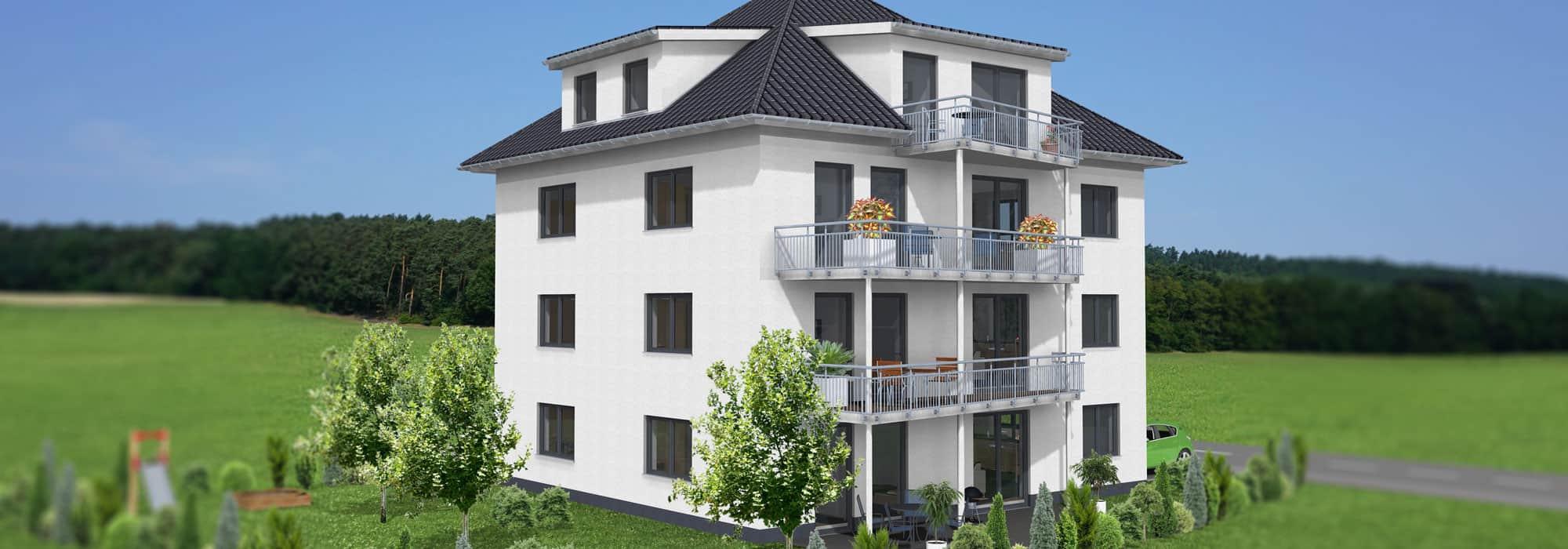 4 Eigentumswohnungen in Bad Hersfeld