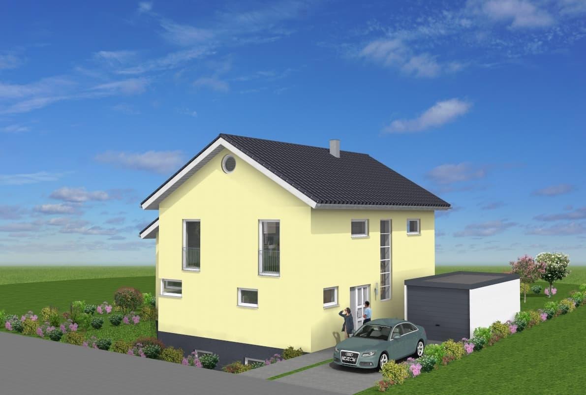 EFH mit Wintergartenanbau und Garage in Petersberg-Marbach