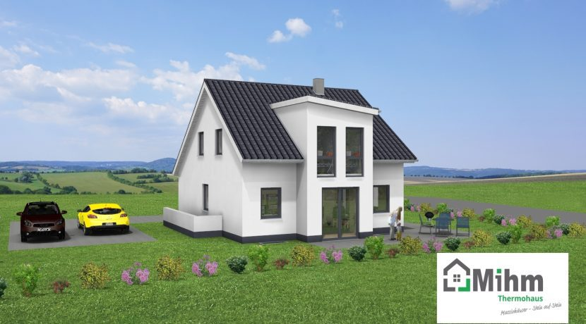 Classico141SD+BKG73_Bauantrag_Ansichten_3D-Terrasse_Logo