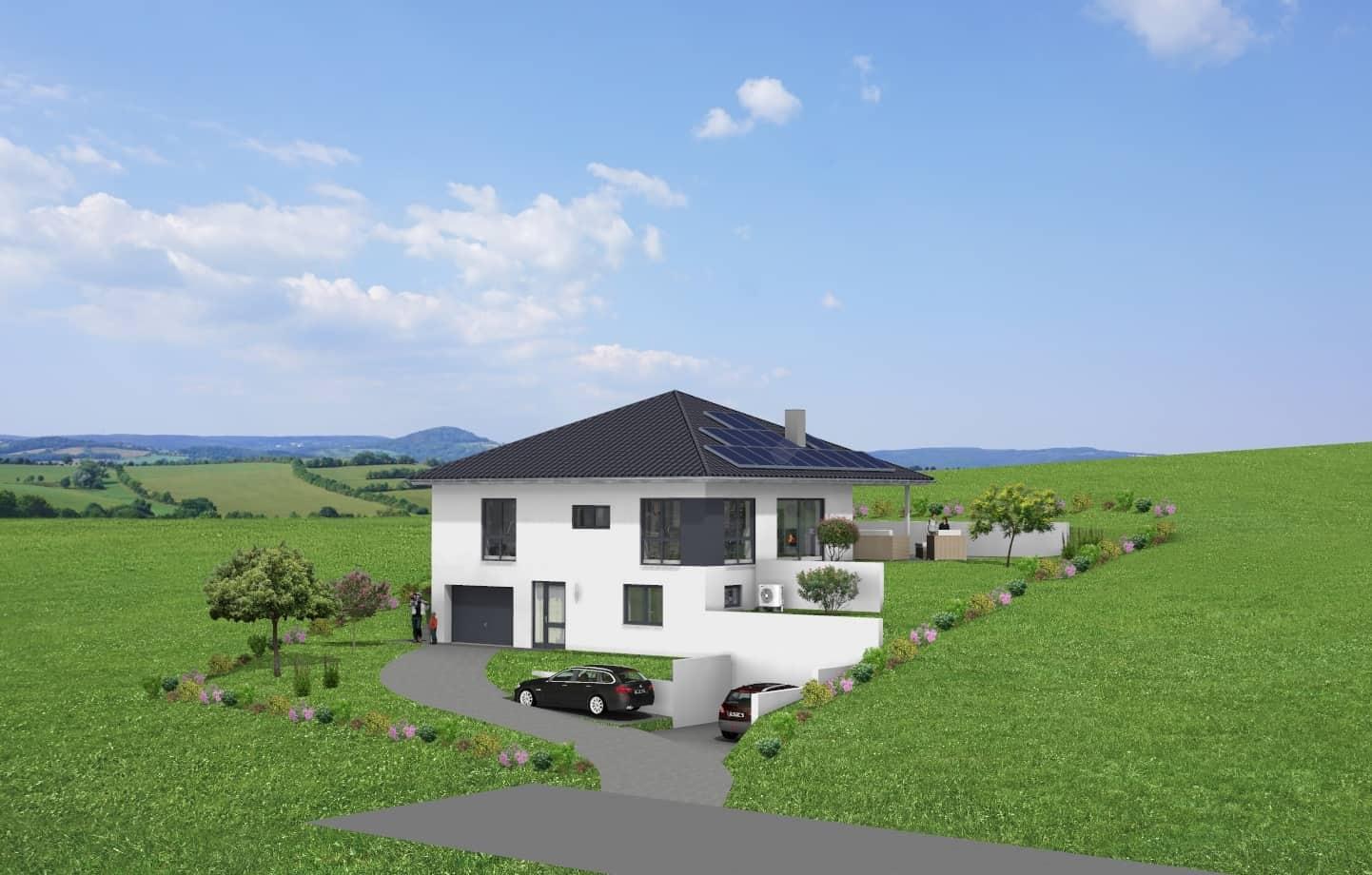 Einfamilienwohnhaus mit ELW und Garage in 36277 Schenklengsfeld