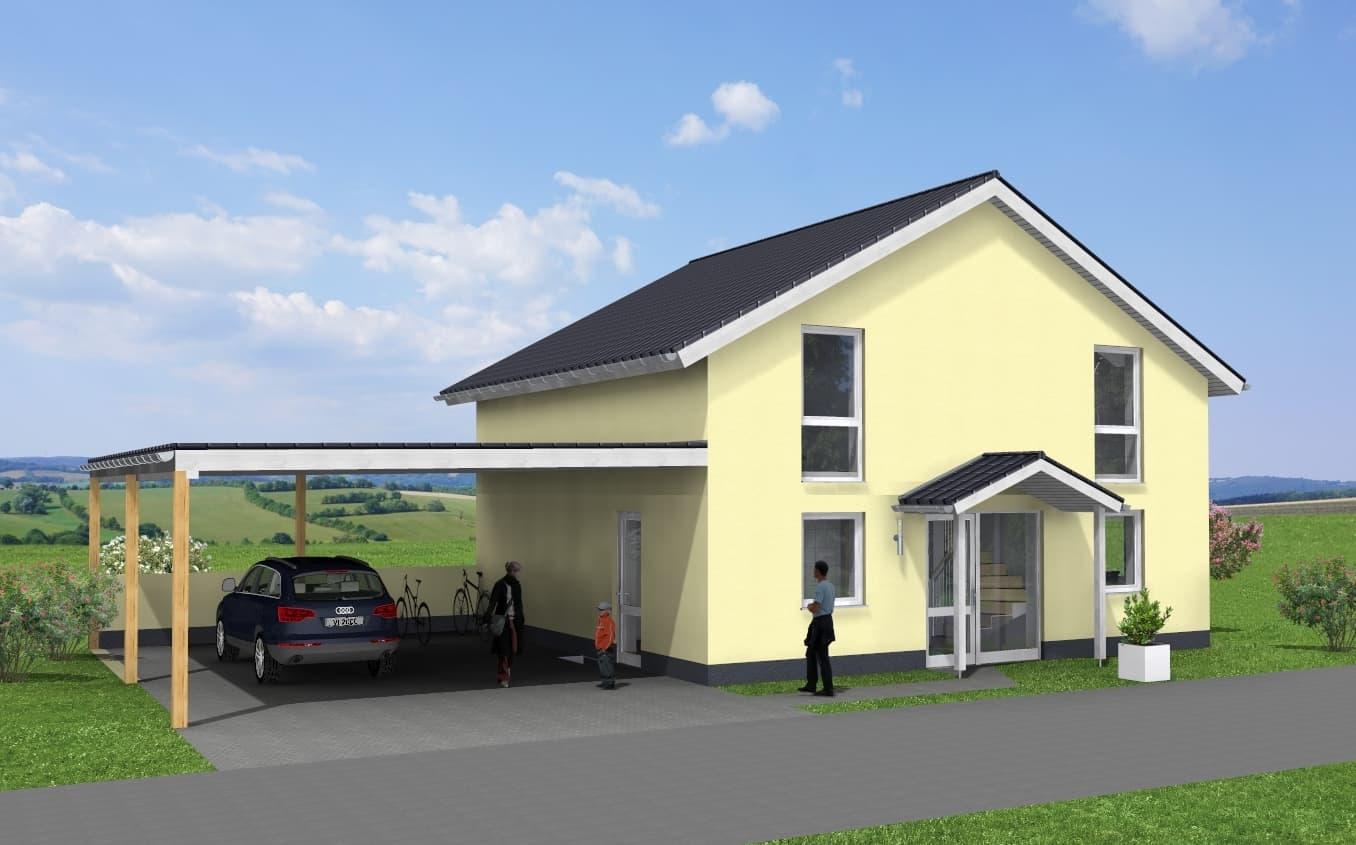 EFH mit Einliegerwohnung, Carport und Garage in 36452 Föhlritz