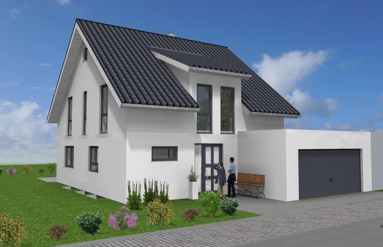 Einfamilienhaus mit Garage in 63843 Niedernberg