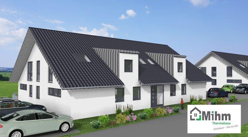2019-01-16_Primo778SD-7WE_Bauantrag_Ansicht_Ansichten_3D-Eingang-Haus B_Logo