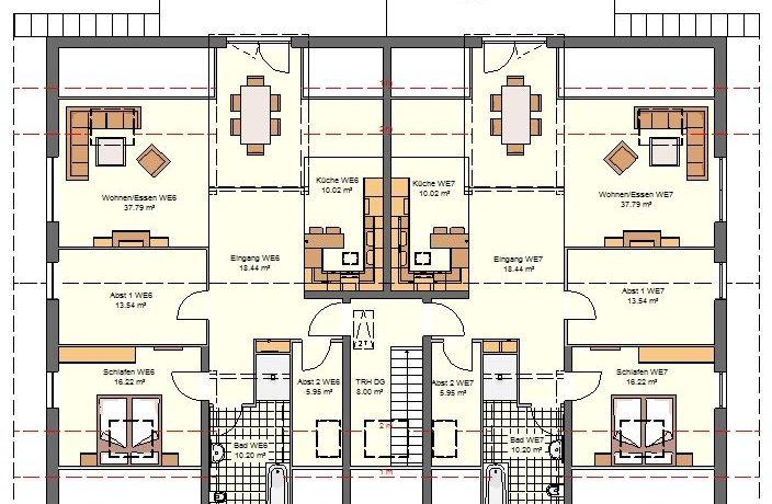 2019-01-16_Primo778SD-7WE_Bauantrag_Ansicht_Ansichten_DG-Entwurf-Haus A