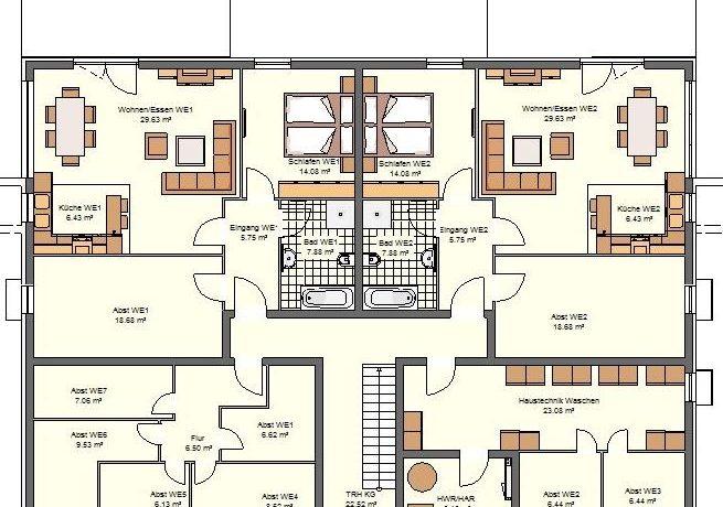 2019-01-16_Primo778SD-7WE_Bauantrag_Ansicht_Ansichten_KG-Entwurf-Haus A