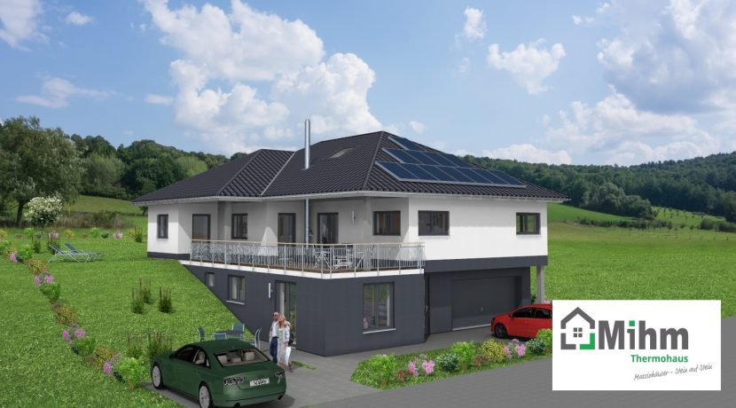 Bungalow135WD+BKG166_Bauantrag_2019-01-14_Ansichten_3D-Terrasse_Logo
