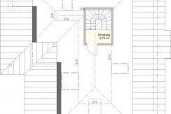 Bungalow135WD+BKG166_Bauantrag_2019-01-14_Ansichten_DG-Entwurf