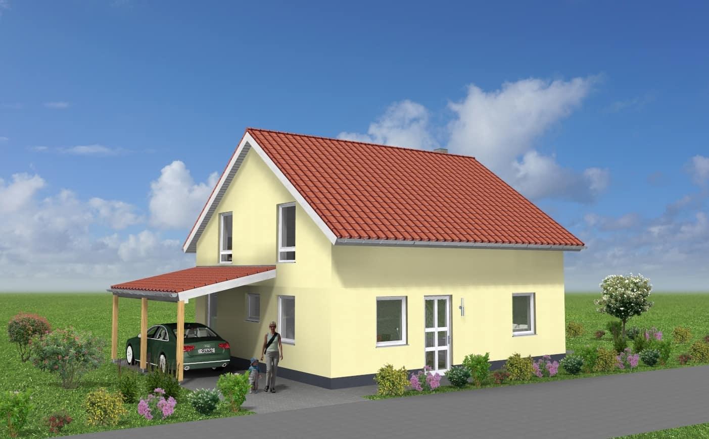 EFH mit Carport in 99334 Wachsenburggemeinde