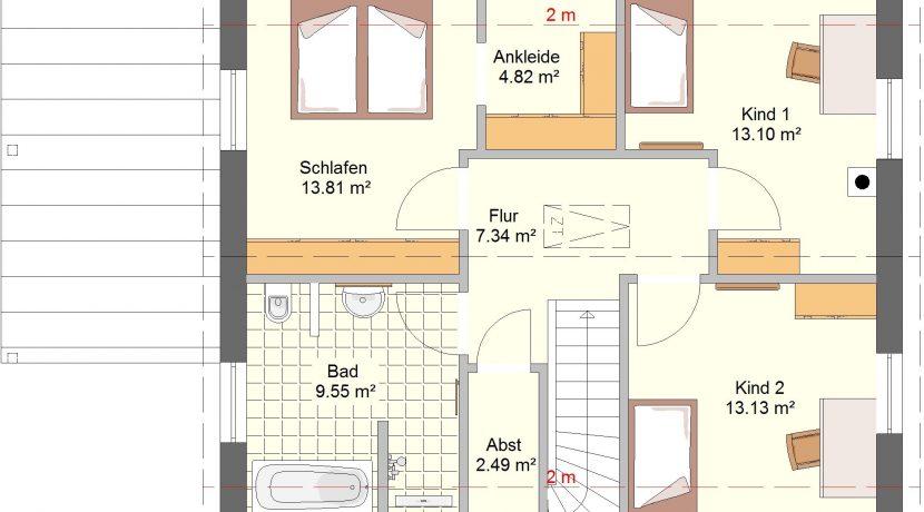 Classico134SD+CA_Bauantrag_Ansichten_DG-Entwurf