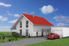 Classico135SD_Bauantrag-Ansichten_3D-Eingang
